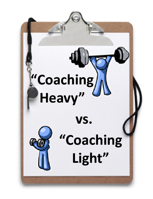 "Coaching ""Heavy"" / Coaching ""Light"""