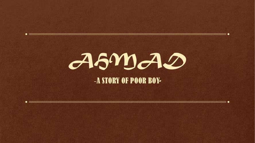 TELL US STORY-AHMAD-  PDF