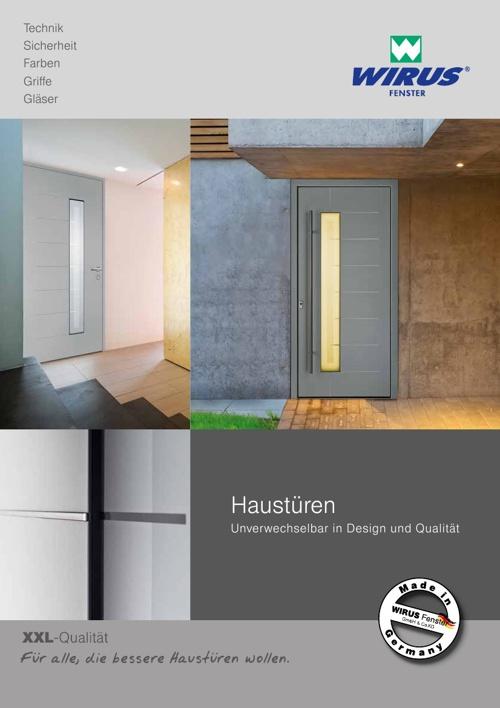 WIRUS Haustürenkatalog 01/2014