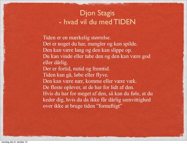 Tiden  - Djon