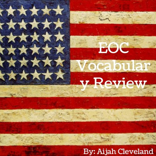 EOC Vocabulary Review