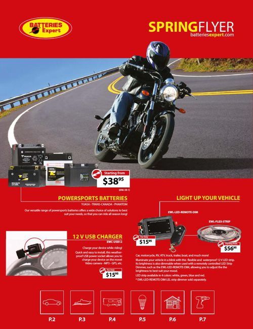 Batteries Expert Spring Flyer