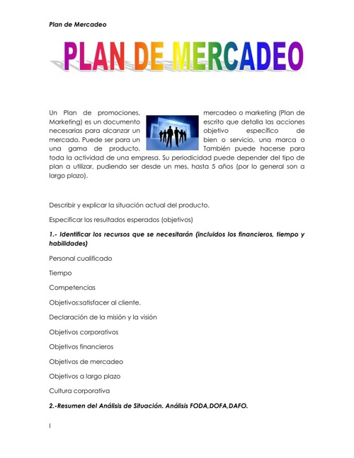 VALERIA-Plan de Mercadeo