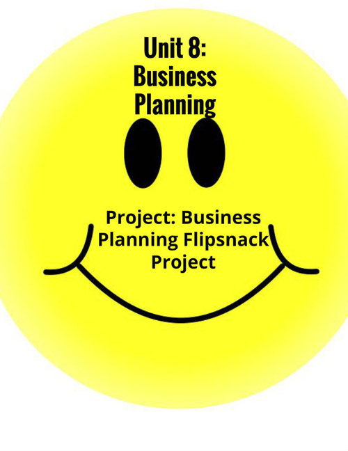 Unit 8: Business Planning