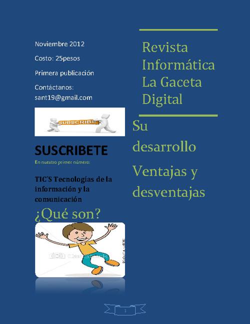REVISTA INFORMATICA TICs