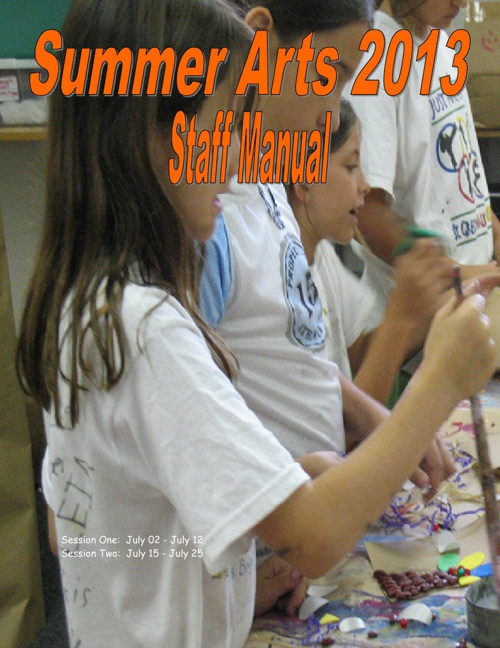 Summer Arts Staff Handbook