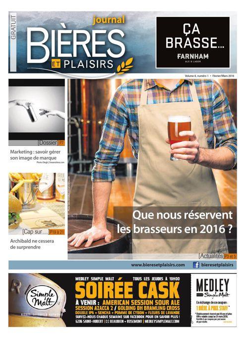 Bières et Plaisirs - Février 2016 - Volume 8 Numéro 1