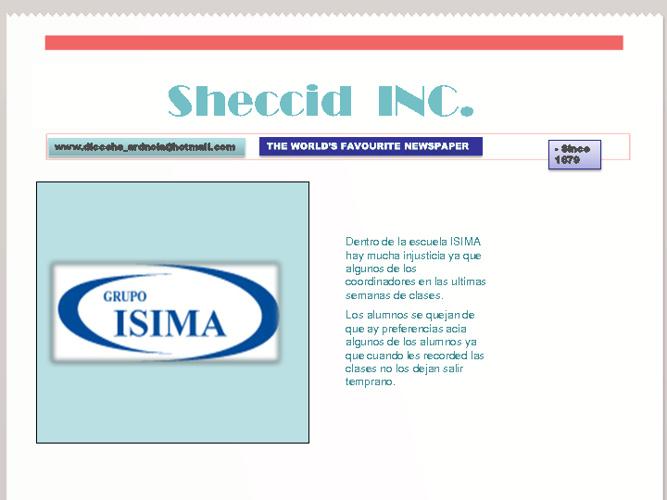 periodico sheccid
