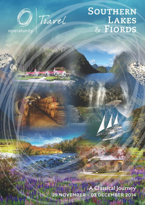 2014 Southern Lakes Itinerary