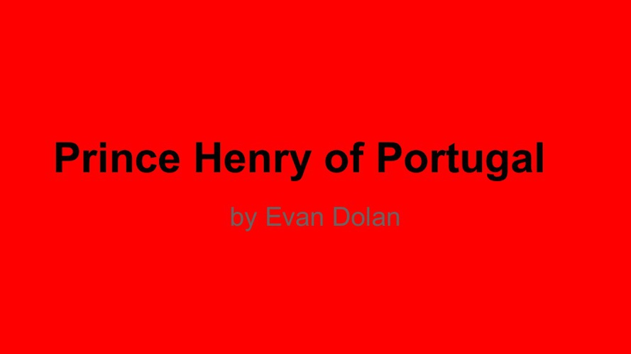 Prince Henry of Portugal