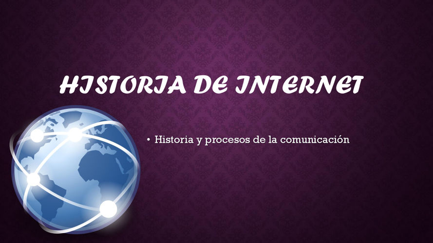 Historia de Internet terminado