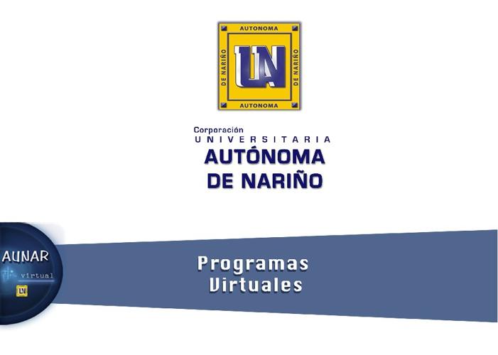 Programas Virtuales AUNAR