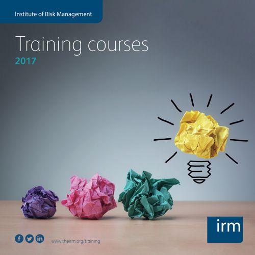 IRM Training Brochure 2017