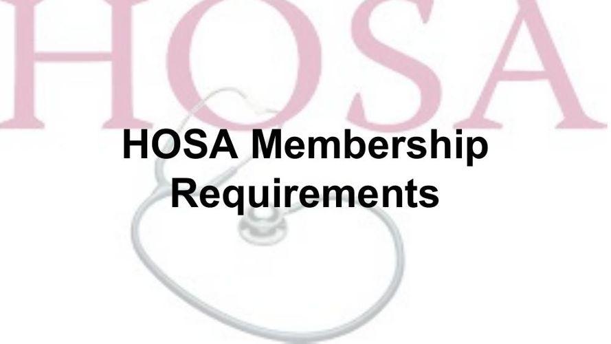 Hosa membership