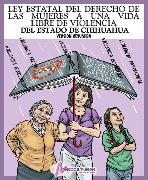 Folleto. Ley Estatal Derecho de Mujeres Vida Libre de Violencia