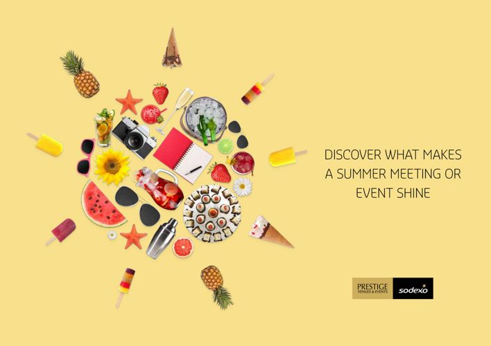 Sodexo Prestige Venues & Events – Summer Brochure 2017