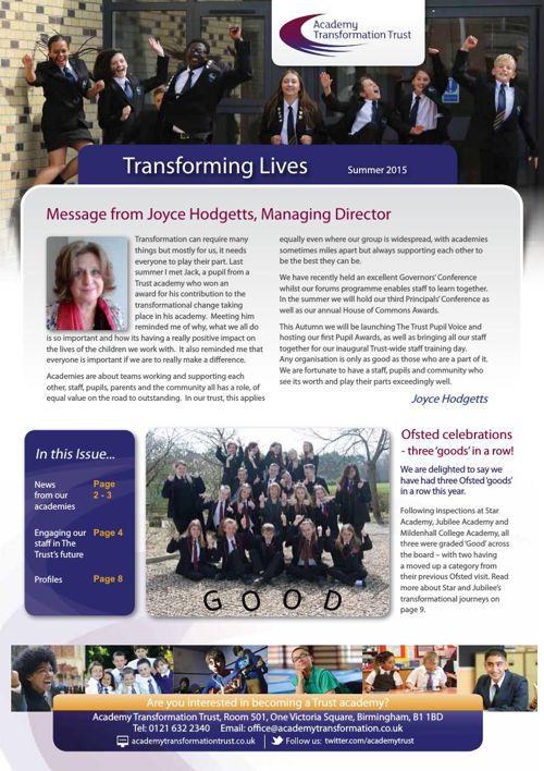 Trust Newsletter Summer 2015