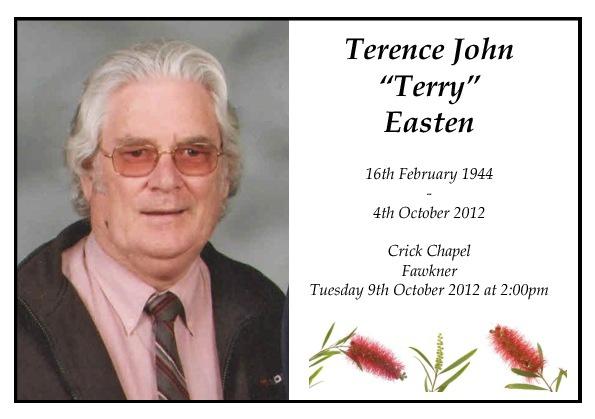 Terence Easten