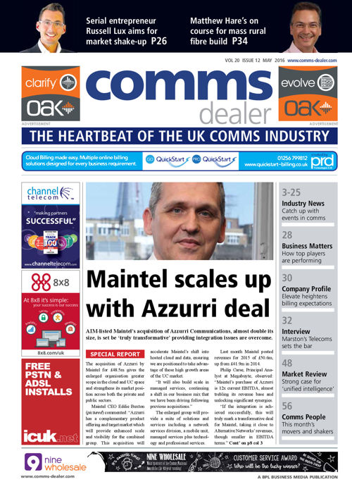 Comms Dealer May 2016