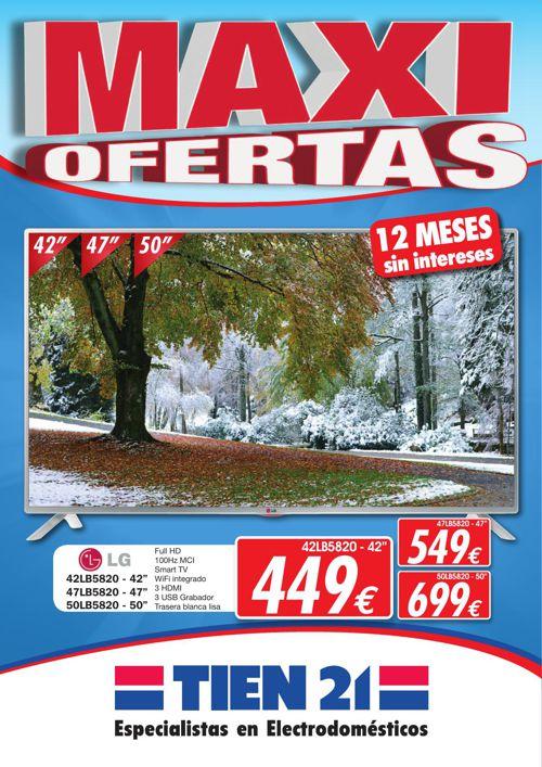 FOLLETO OFERTAS TIEN 21