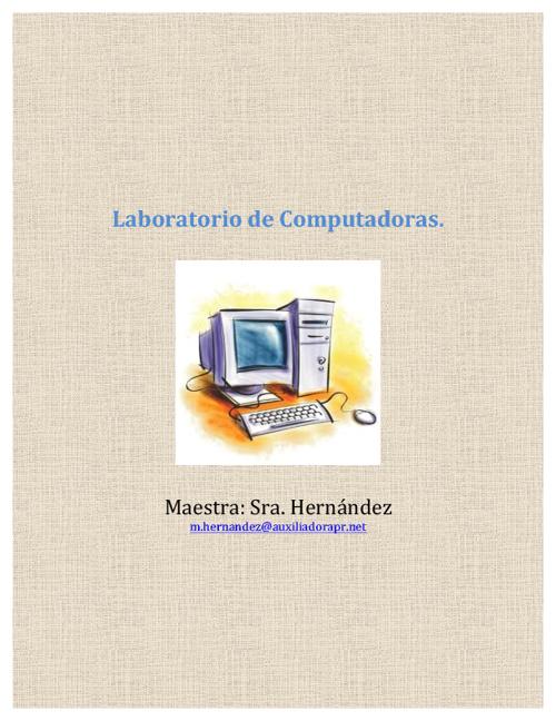 Laboratorio de Computadoras