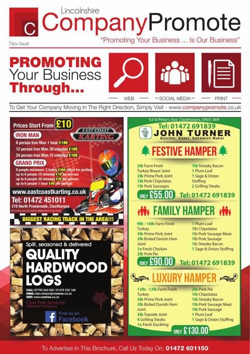 Company Promote - November Issue