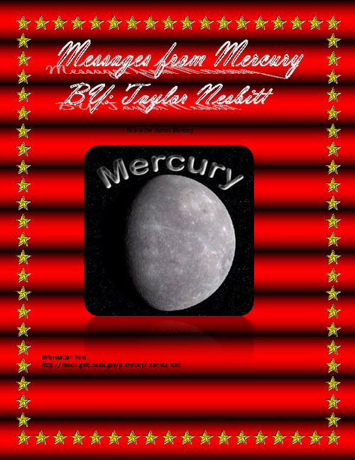 Messages from mercury