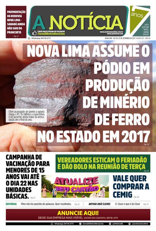 Jornal A Notícia - Edição 301