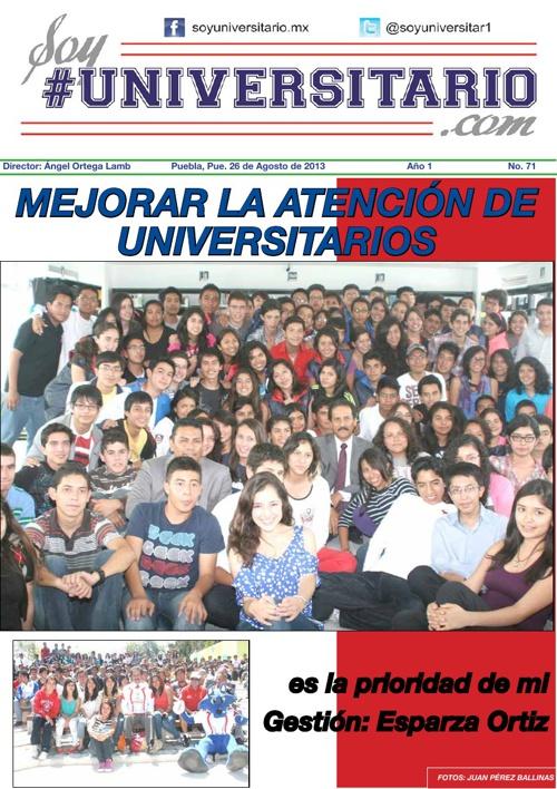#SoyUniversitario No. 71