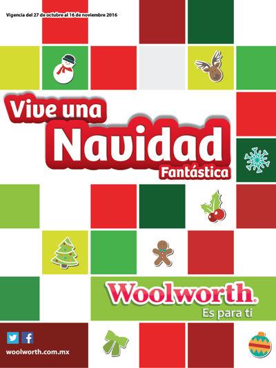Folleto Woolworth - Vive una Navidad Fantástica