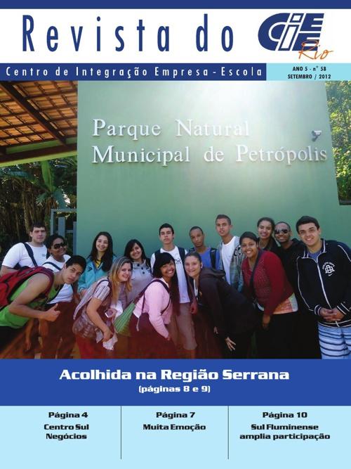 Revista do CIEE Rio - Setembro / 2012