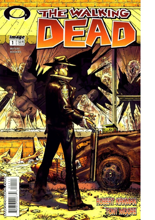 The Walking Dead #1 - #5