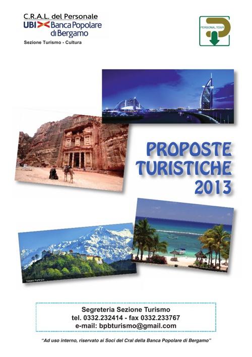 Catalogo Turismo 2013