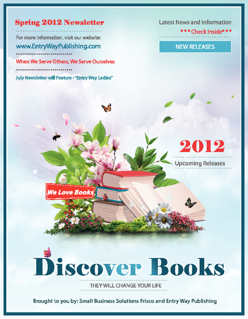 Entry Way Publishing Spring Newsletter