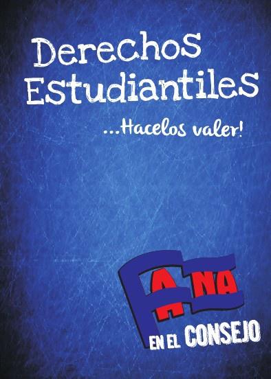 """DERECHOS ESTUDIANTILES FAUBA - """"El Librito Azul"""""""