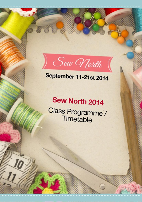 Copy (2) of Sew North Programme September 2014