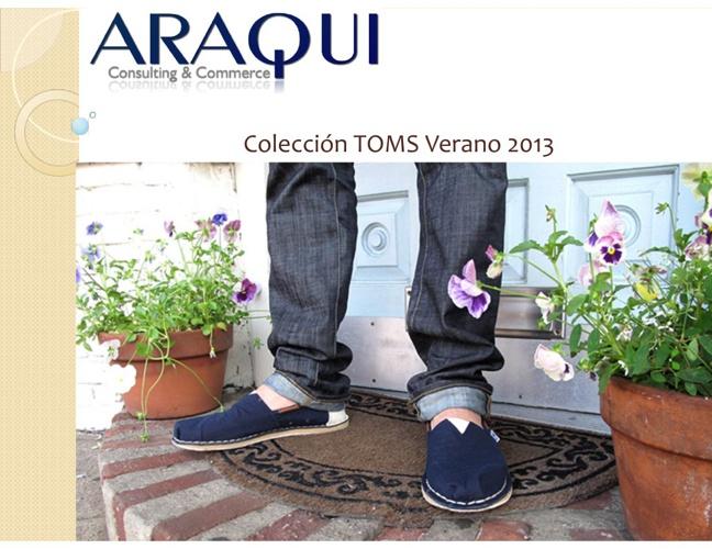 ARAQUI Catálogo TOMS verano 2013