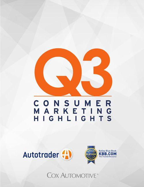 Q3 Consumer Marketing Highlights