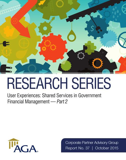 User Experiences: Shared Services in Government Financial Manage