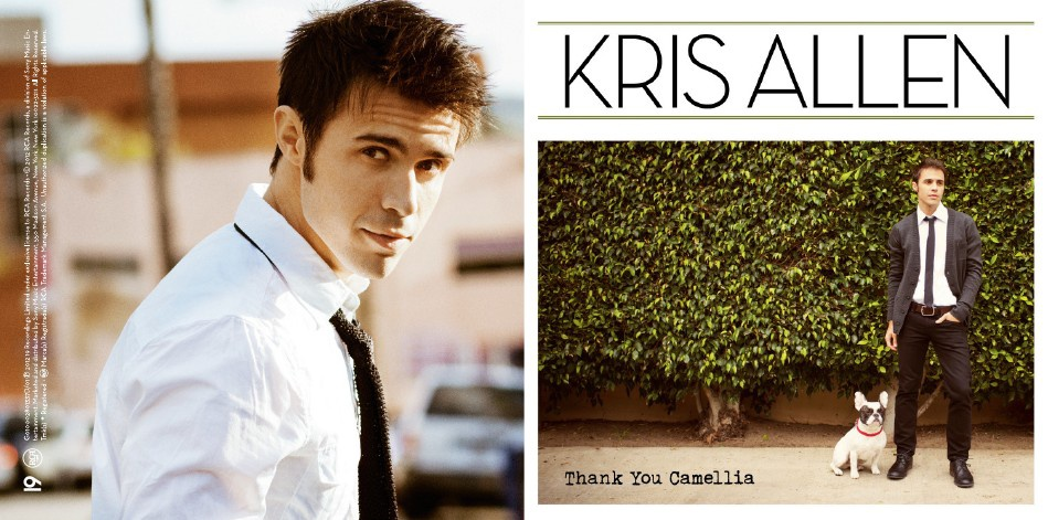 DIGITAL BOOKLET- THANK YOU CAMELLIA(KRIS ALLEN)