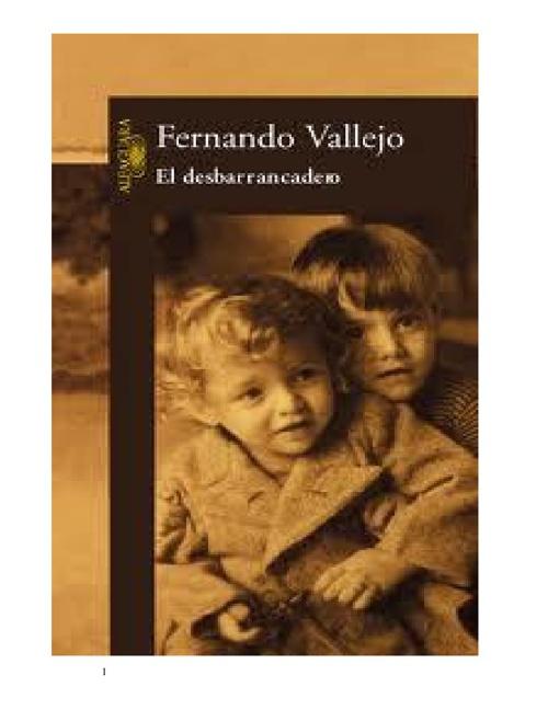 VALLEJO FERNANDO - El Desbarrancadero.original...IMAGES