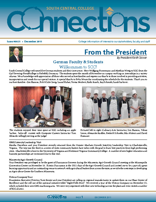 December 2011 Connections Newsletter