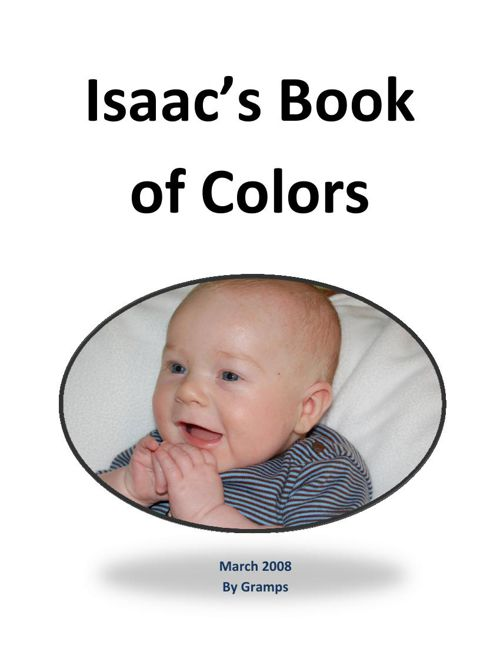 Isaac's Book of Colors Final eBook