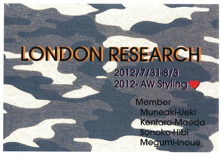LONDON 2012 AW Styling