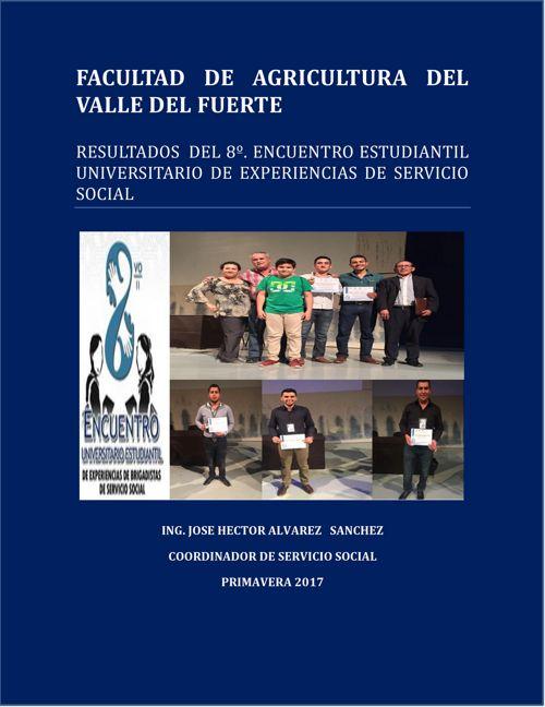 Ganadores del octavo encuentro servicio social favf 2017