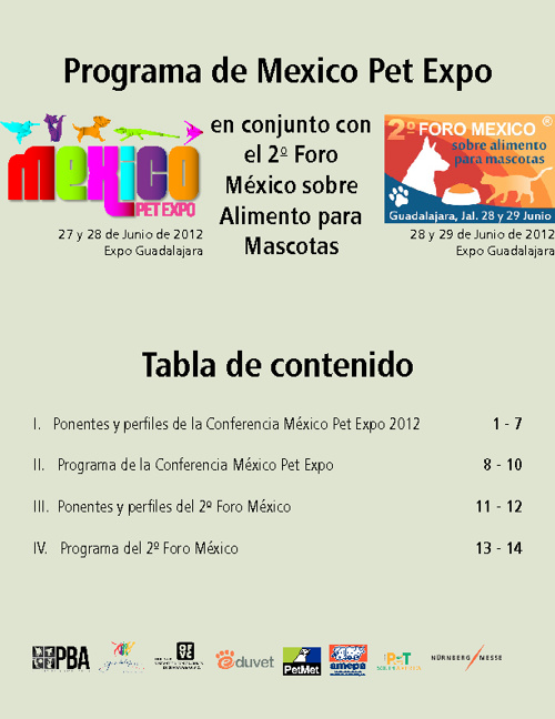 Conferencia de Mexico Pet Expo 2012