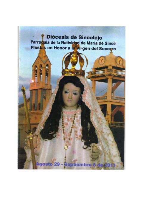 Novenario de la Virgen del Socorro año 2011