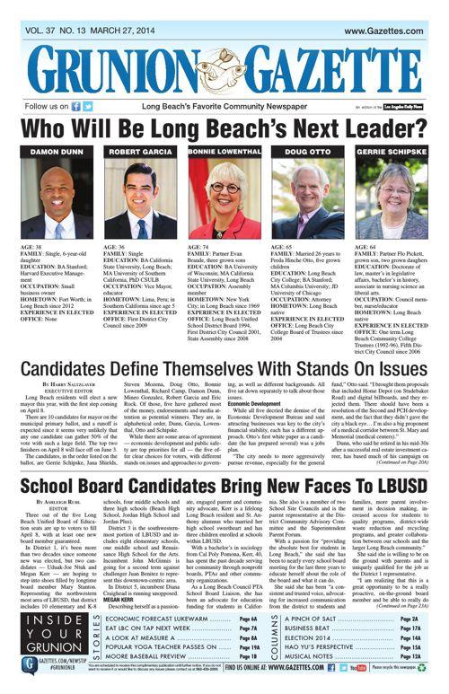 Grunion Gazette | March 27, 2014