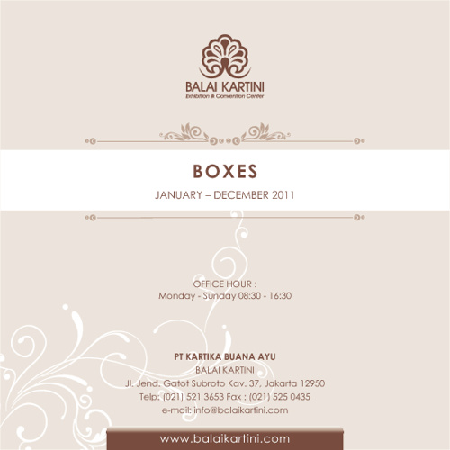 Boxes 2011