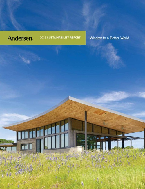 Andersen 2013 Sustainability Report